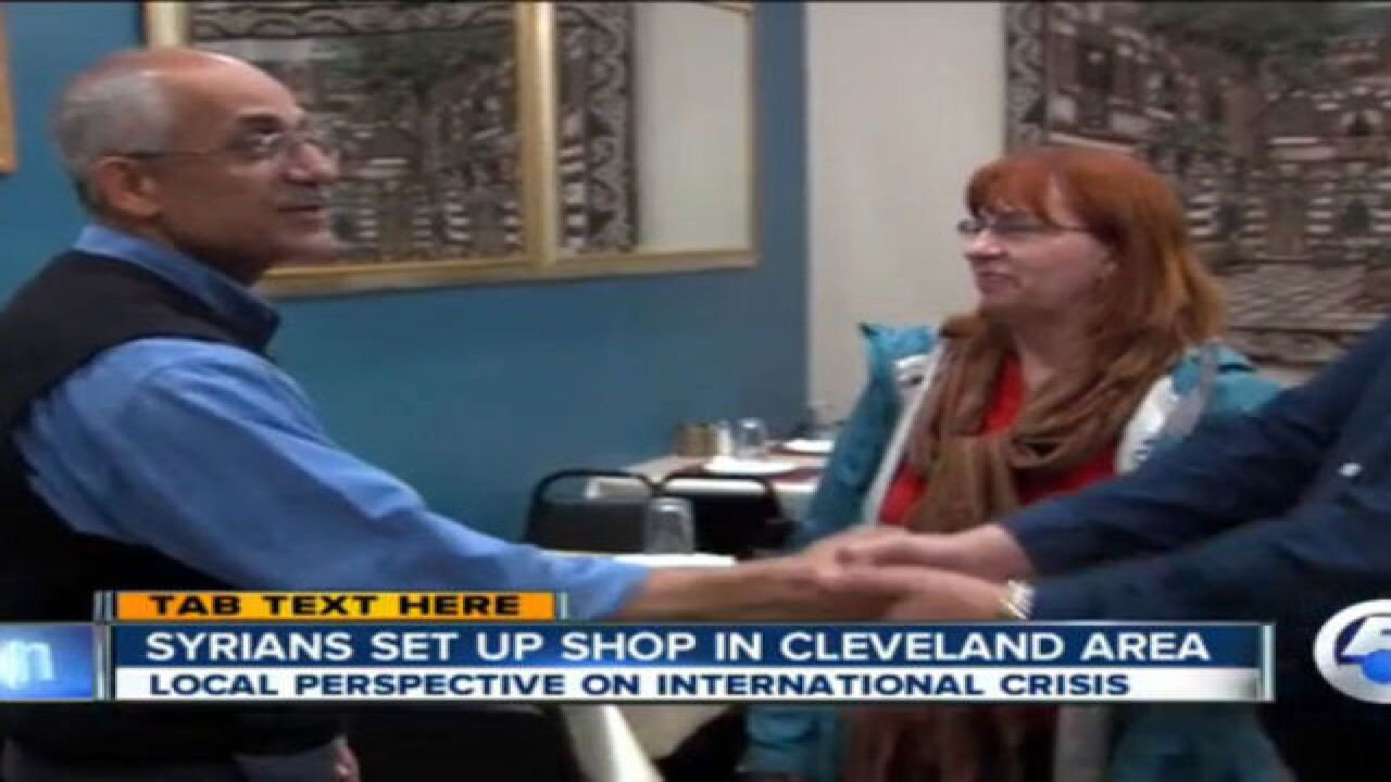 Syrians in CLE offer perspective on crisis