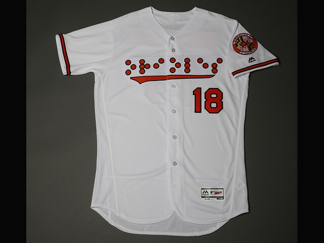 e1edeb3c1e9 Orioles to wear Braille jerseys Sept. 18 for National Federation of the  Blind commemoration