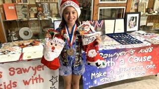 Miss Sawyer's Kids with a Cause: 10-year-old's mission to help troops, veterans
