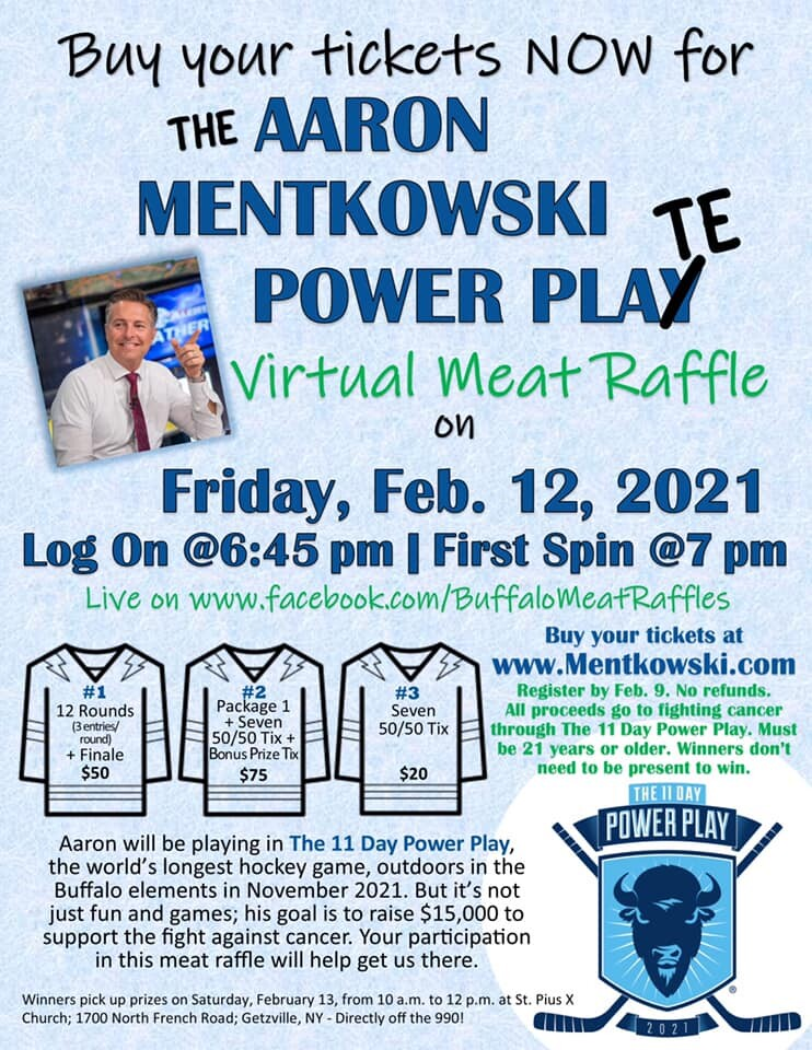 7 EWN Chief Meteorologist Aaron Mentkowski raising money for 11 Day Power Play