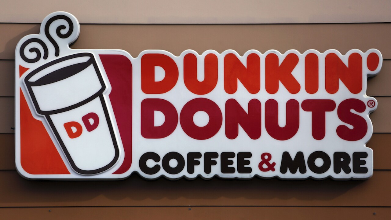 Dunkin' is offering free coffee and donuts in August
