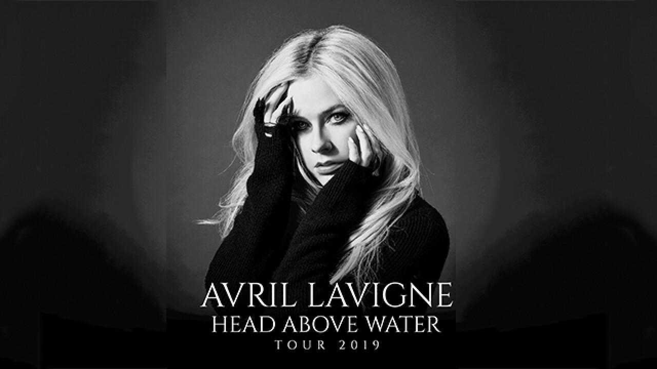 Avril Lavigne Tour 2020 Avril Lavigne bringing 'Head Above Water Tour' to Detroit this