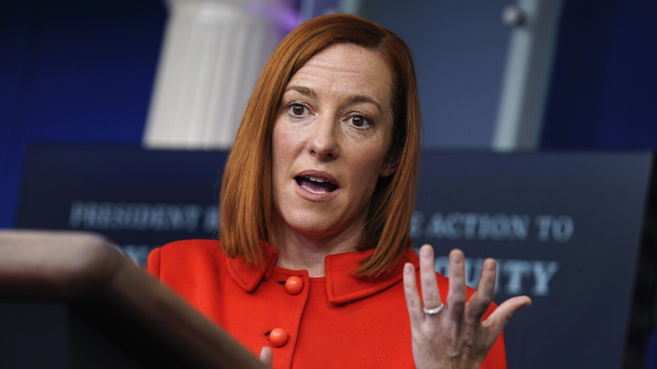 Jen Psaki press secretary