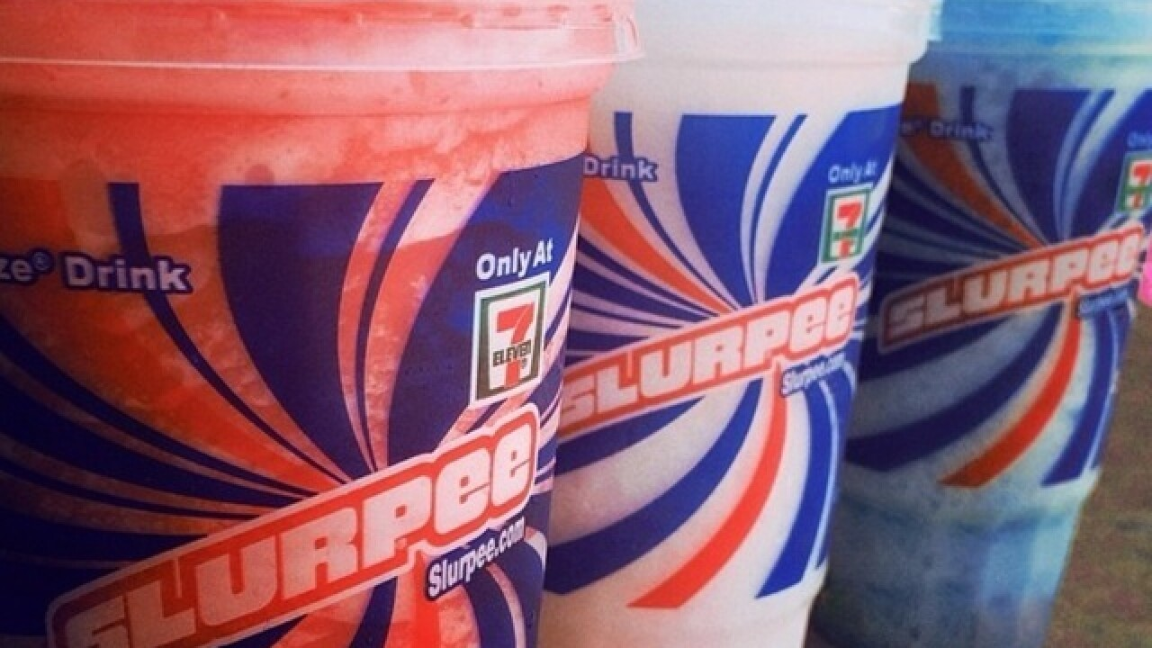 Celebrate 7-Eleven's birthday with a free Slurpee on Wednesday