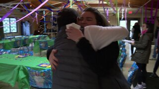 🎁Greg McQuade surprises woman who makes sure every child gets a birthday party