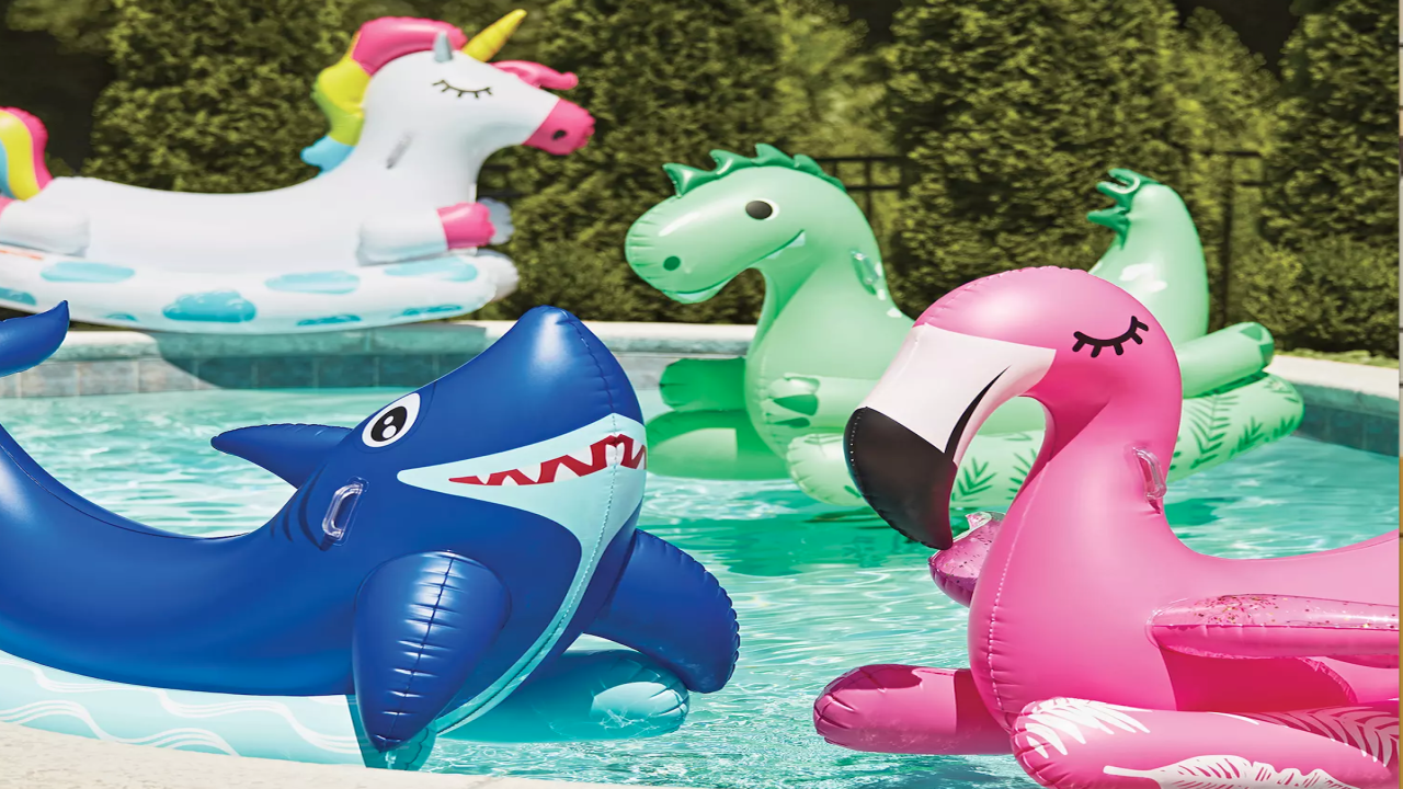 You Can Buy These Ride-On Animal Pool Floats For Under $15