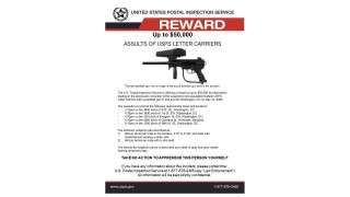 USPS offers $50,000 reward after five carriers assaulted with paintball gun in, around DC