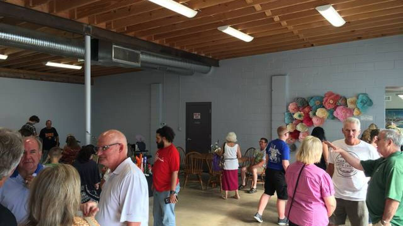 Couple opens community, arts center in Mars Hill