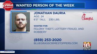 Crime Stoppers Most Wanted Person Of The Week: June 5, 2019
