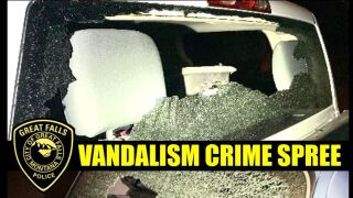 Dozens of vehicles vandalized in Great Falls