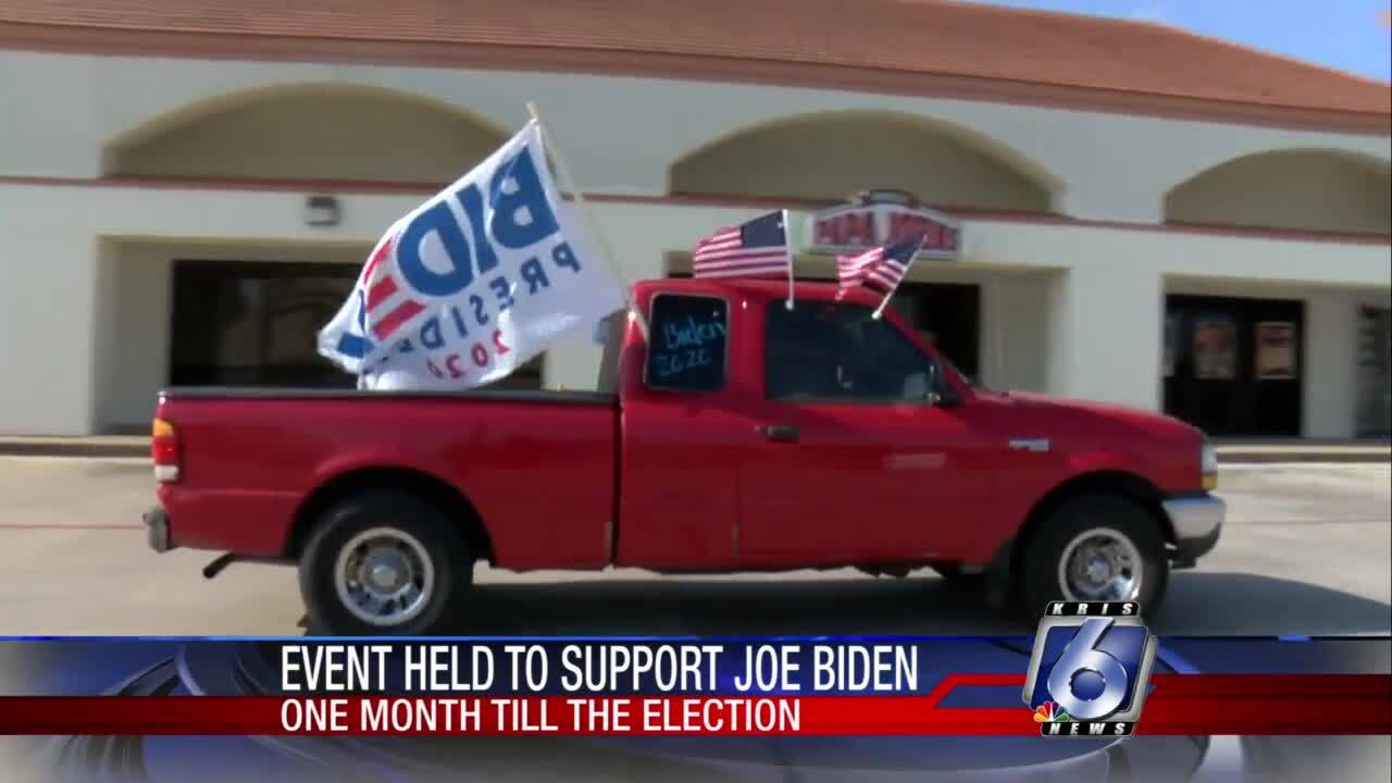 'Ridin with Biden' event help to support Democratic campaign