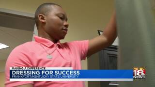 Making A Difference: KSU Senior Helps Others Dress For Success