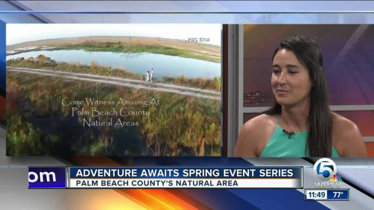 Adventure Awaits spring events series in Palm Beach County