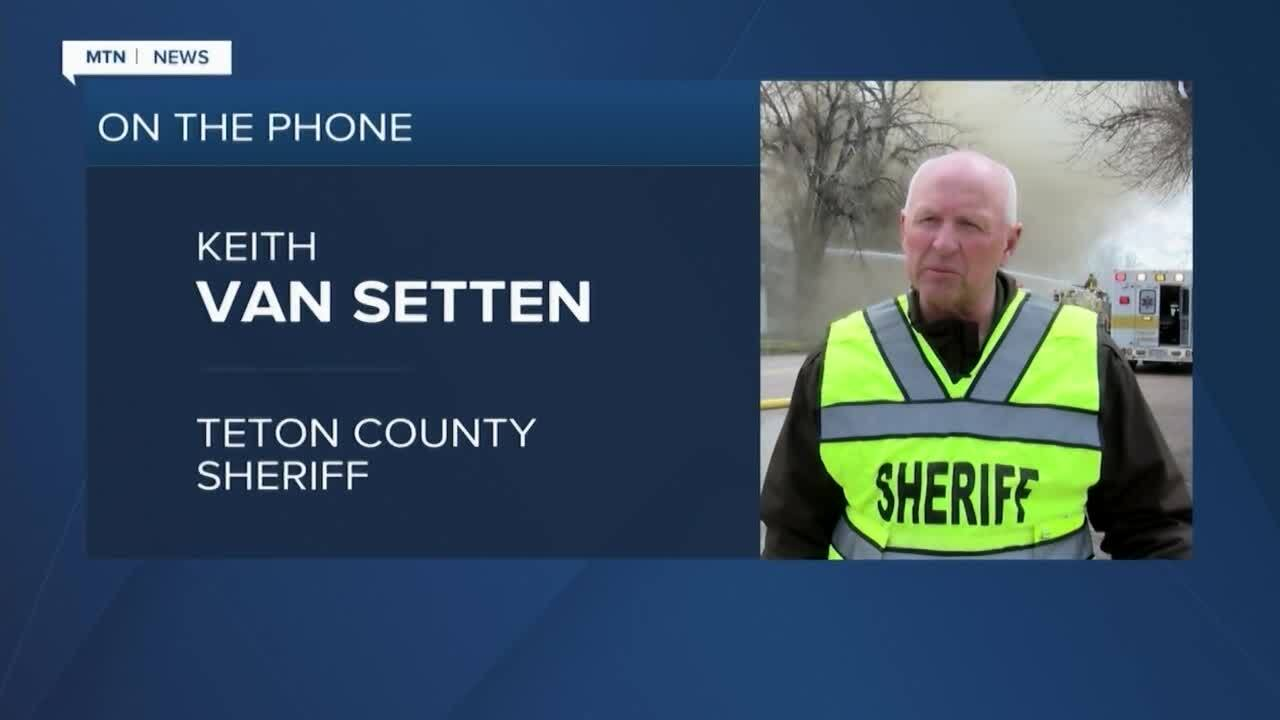 Teton County Sheriff Keith Van Setten