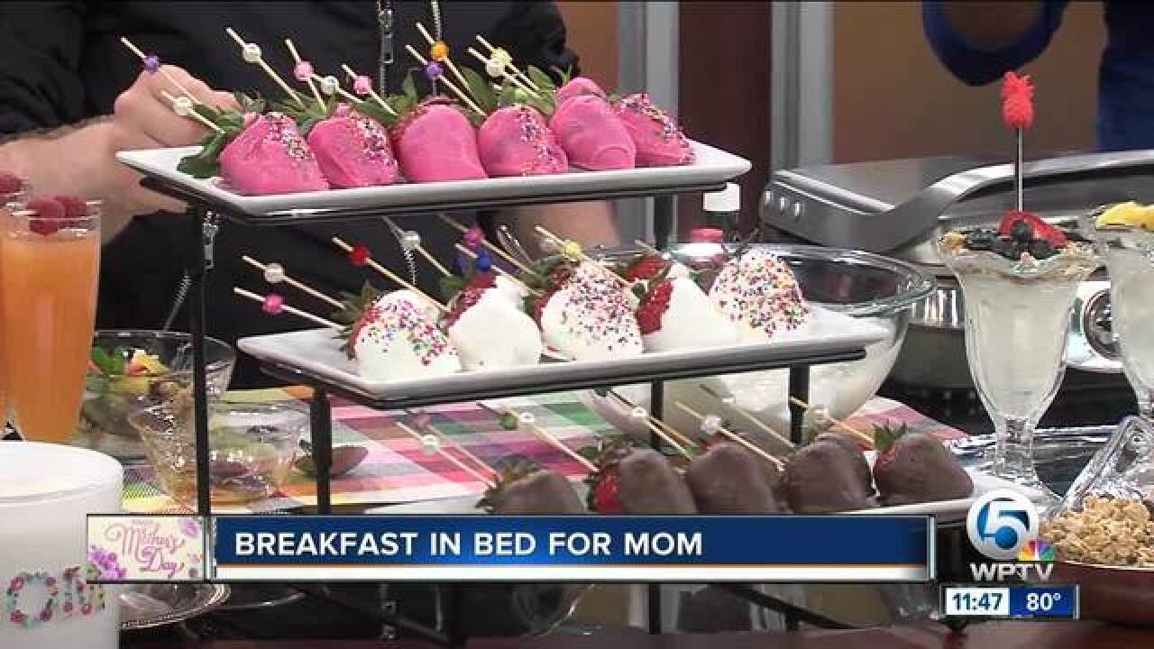 Breakfast, brunch ideas for Mother's Day