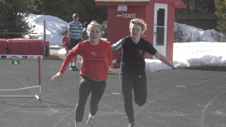 Braving the elements; West Yellowstone track and field begins 2021 season