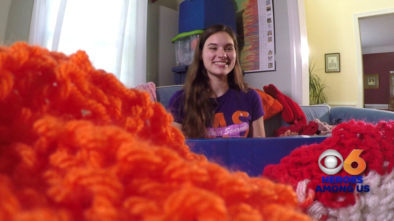 🧶How William & Mary student's hobby is helping people with MS