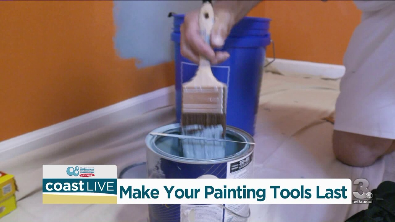 How to make your painting toolslast