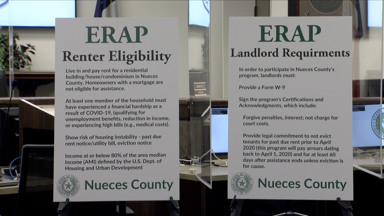 New program provides rental assistance in Nueces County