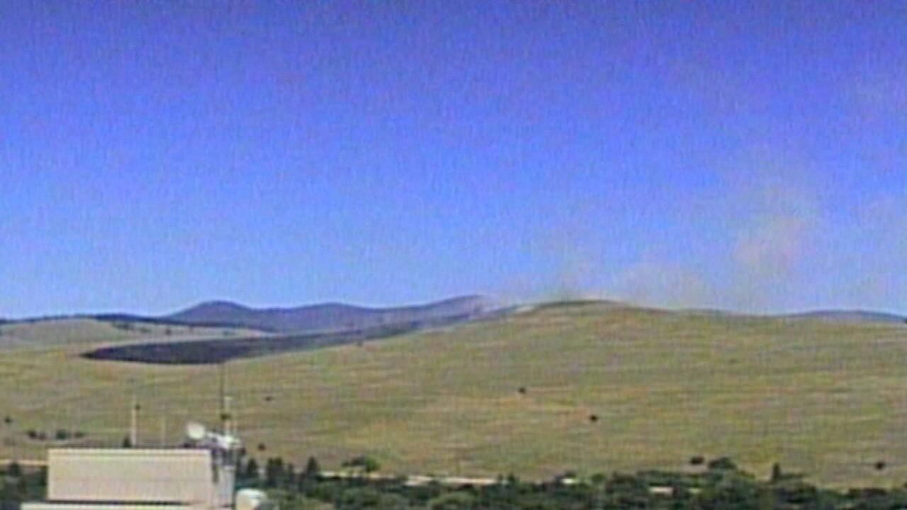 Waterworks Hill Grass Fire