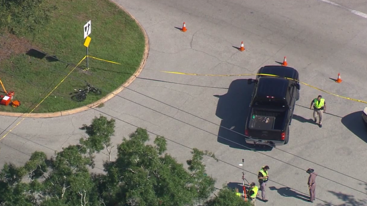 Elementary student hit, killed while riding bike to school in Sarasota