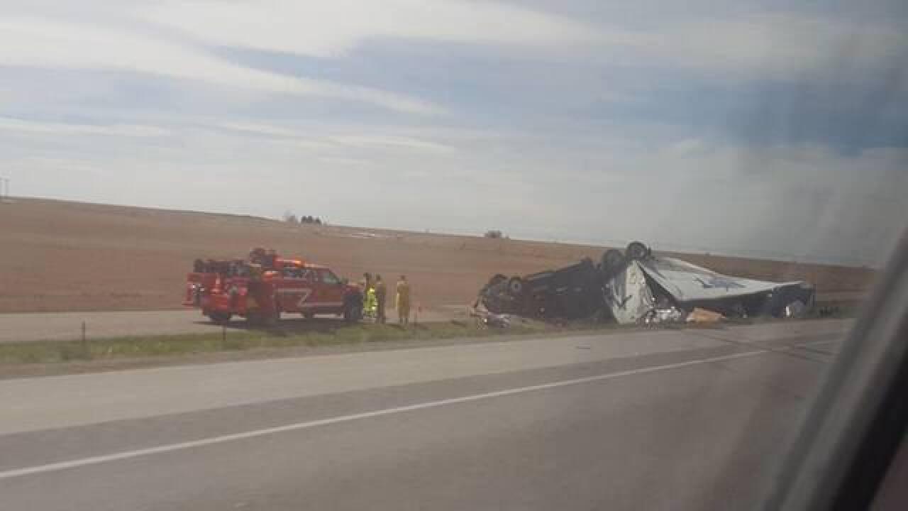 ISP: Fatal crash on Interstate 84 near Hazelton