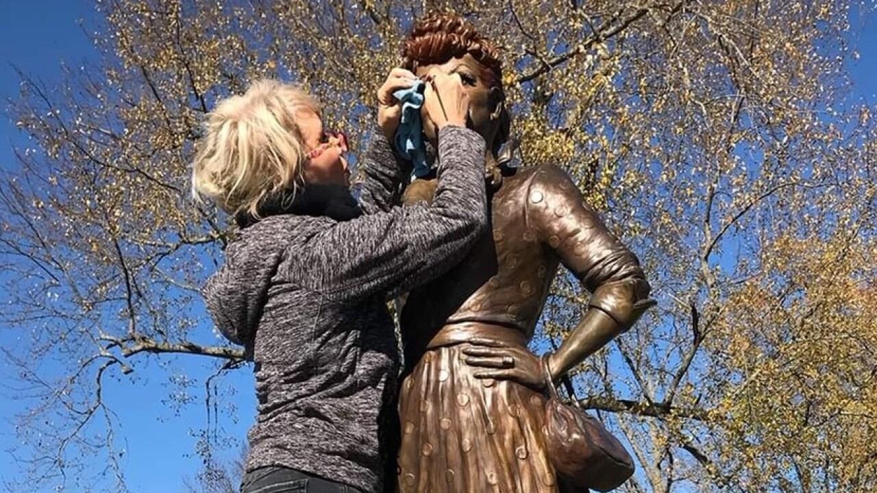 Lucy Statue Repair
