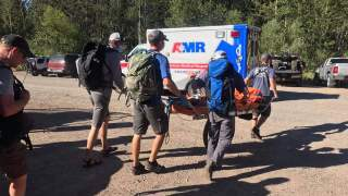 Pair of mountain bike crashes keep search and rescue busy on Saturday
