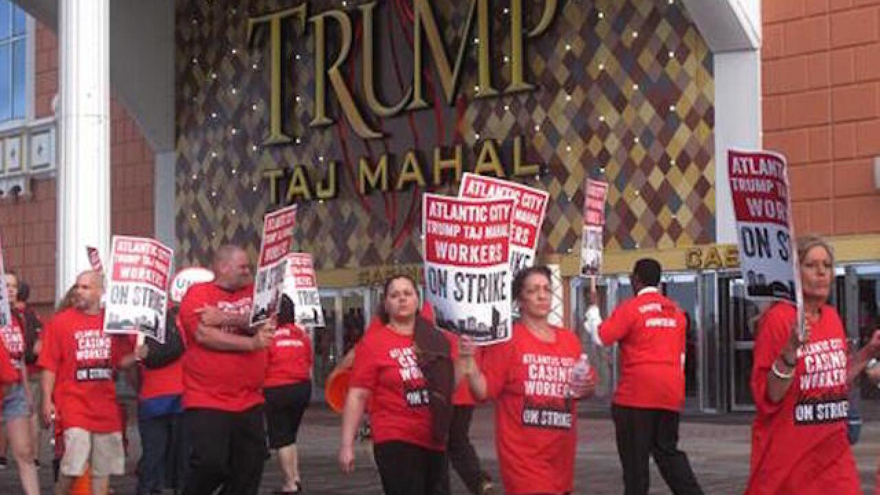 Taj Mahal workers continue strike over health care, pensions