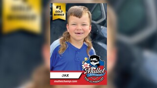 8-year-old from Texas wins first in kids category for best mullet in U.S.