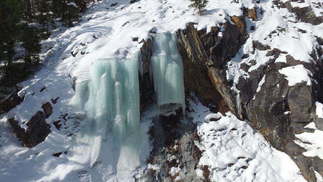 Fatal avalanche when ice broke Jan 18 2020