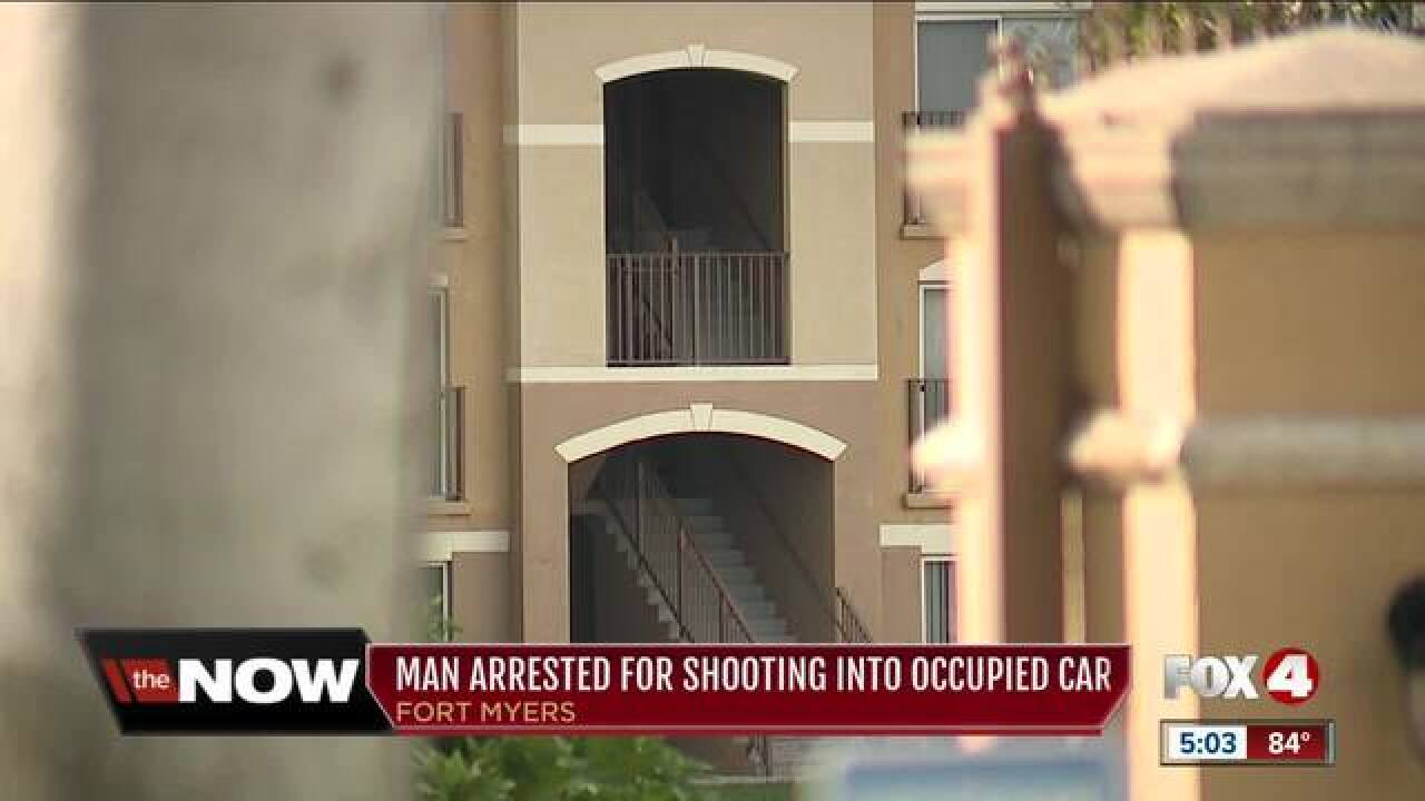 Shooting at apartment complex leads to arrest