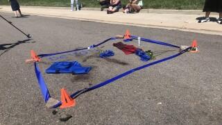 A memorial set up for Devon Bailey in southeast Colorado Springs.