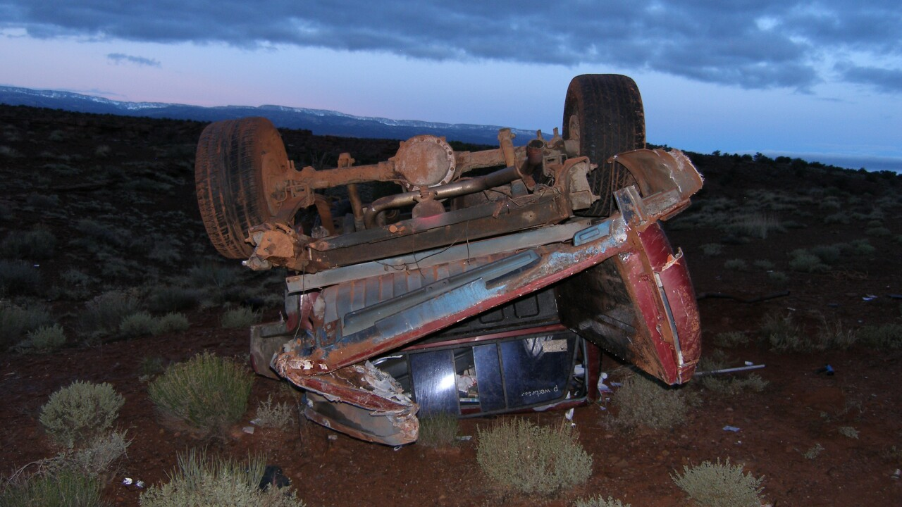 1 man dead after single-vehicle rollover near Capitol Reef National Park