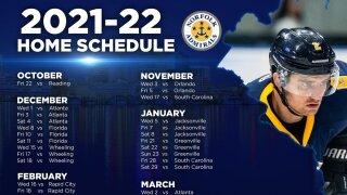 Norfolk Admirals schedule