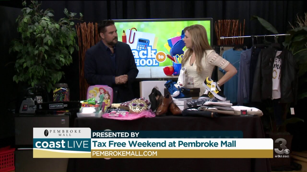 Shopping for your tax-free holiday at Pembroke Mall on CoastLive