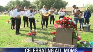 Mother's Day family traditions continue at Rose Hill Cemetary