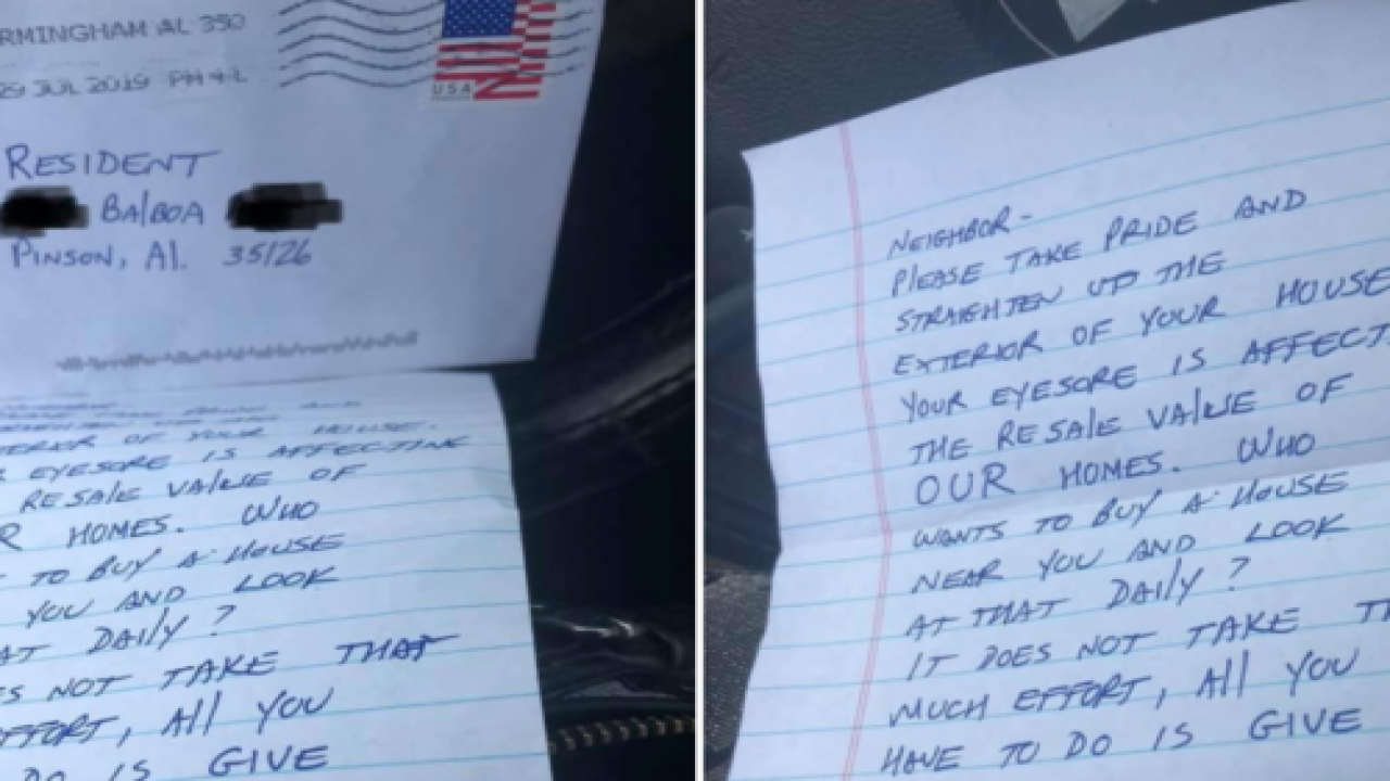 A House-shaming Note Inspired Neighbors To Help This Mom Whose Son Is Battling Cancer