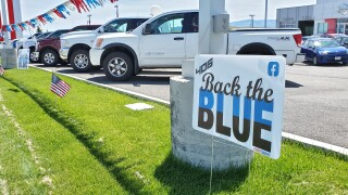 406 Back The Blue campaign supports police funding and local law enforcement