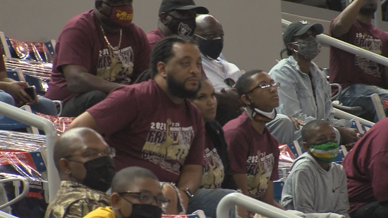 Franklin Basketball Fans