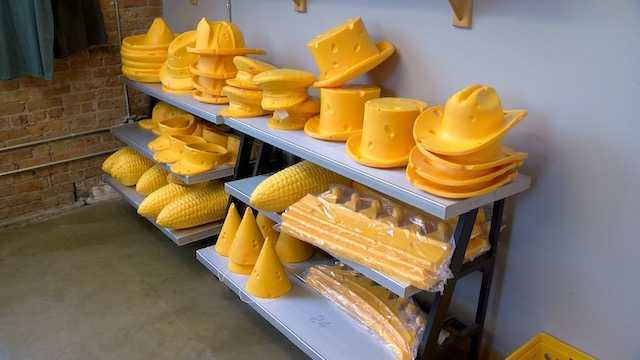Cheesehead company features Brewers-themed hats and more