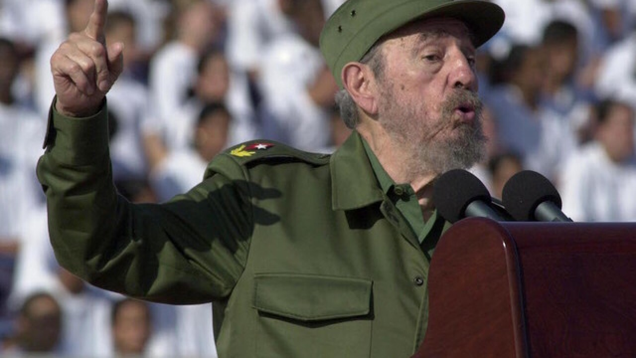 Fidel Castro, former leader of Cuba, dead at 90