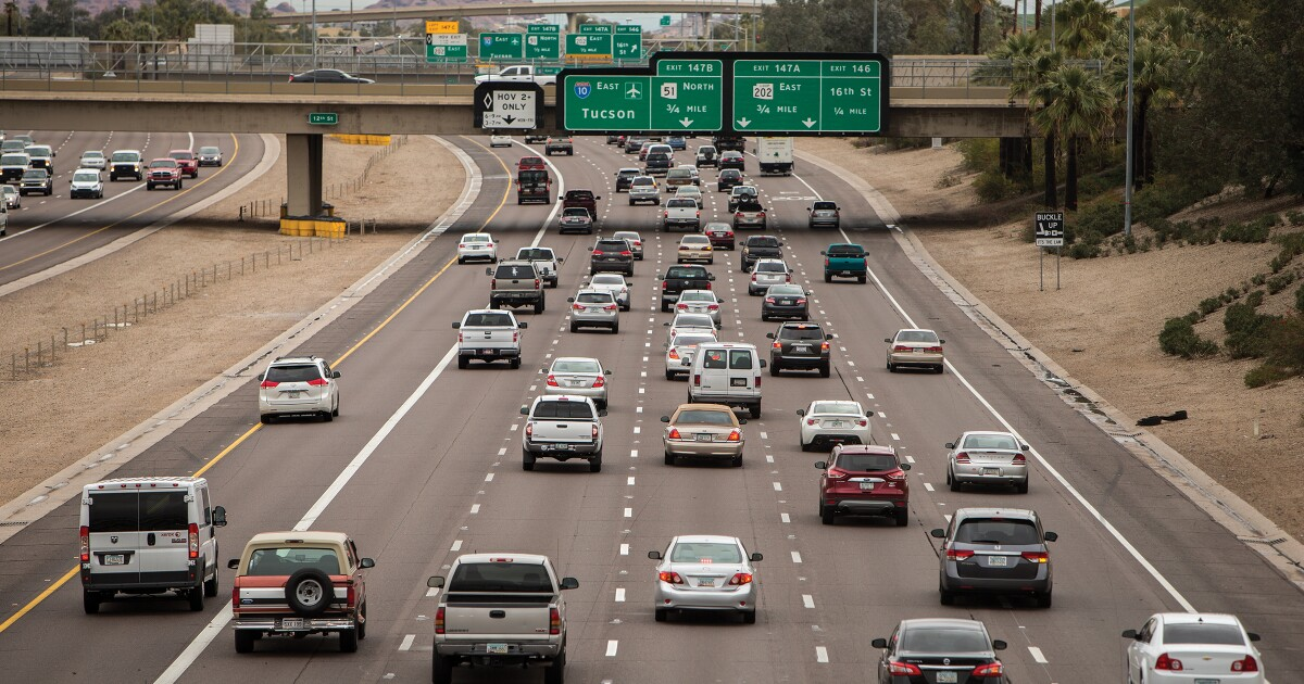 Here's how many hours Phoenix commuters waste in traffic