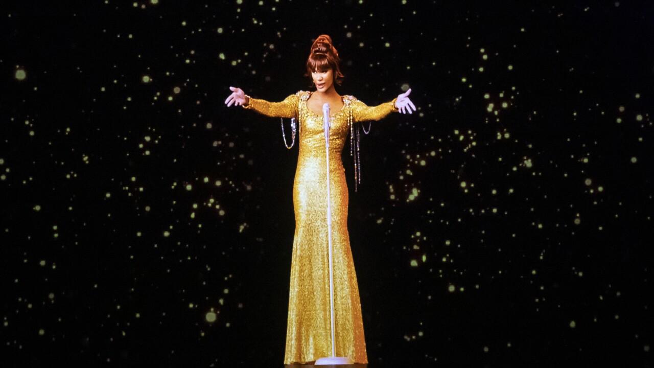 Whitney Houston Hologram Tour