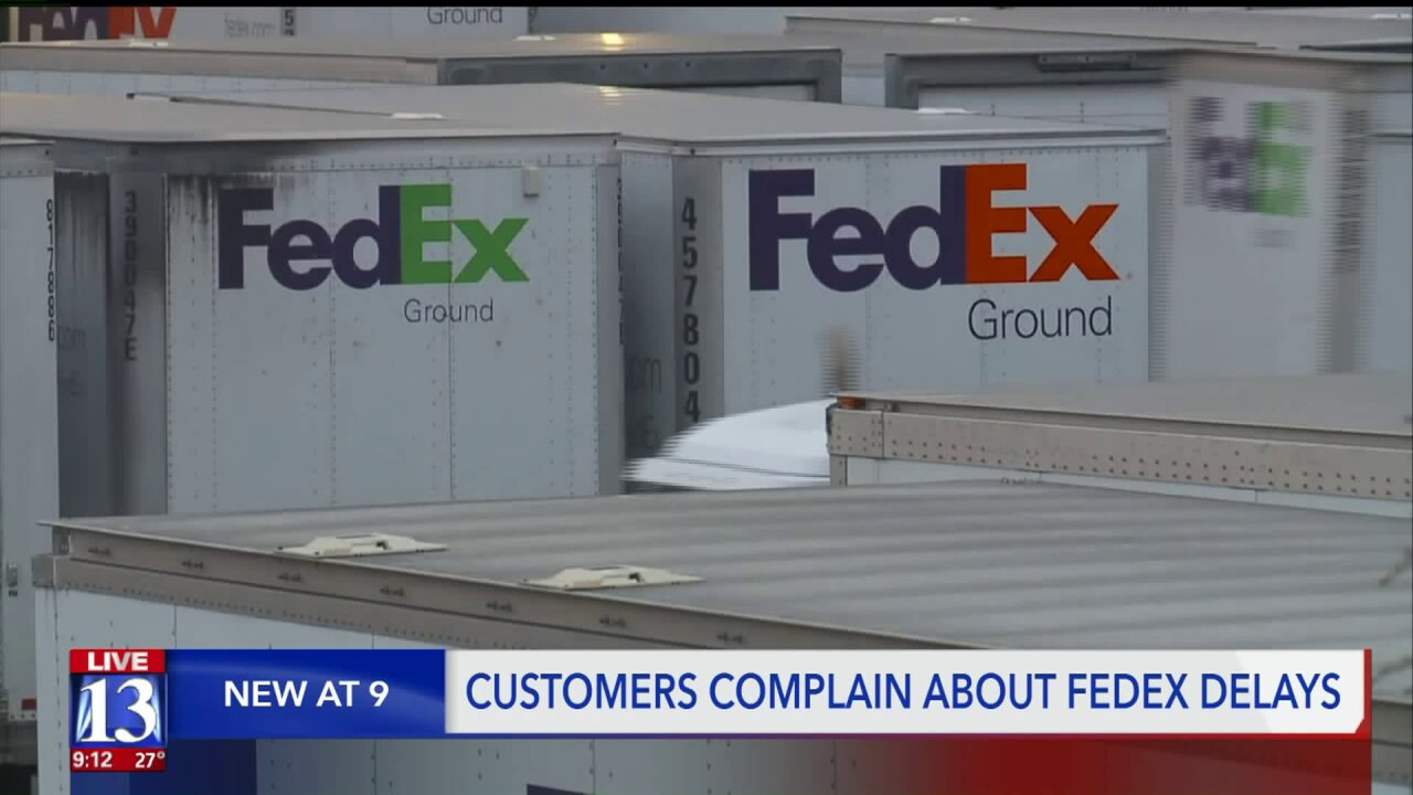 FedEx not delivering your packages? Customers say delays are lasting weeks