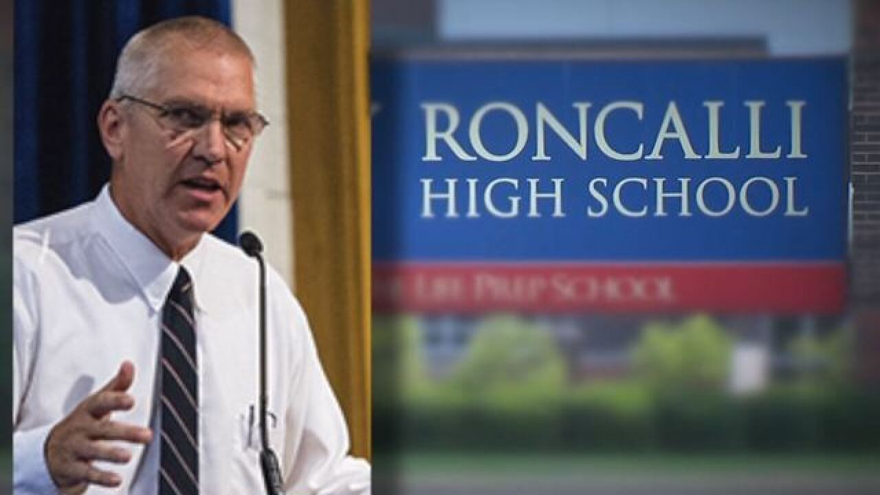 "Roncalli principal apologizes for using ""N-word"""