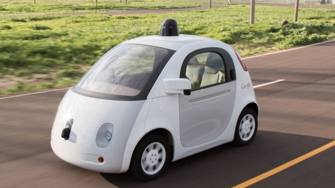 Google's self-driving car has caused an accident
