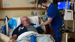 Mike Sommers receives bone marrow transplant at Colorado Blood Cancer Institute..jpg