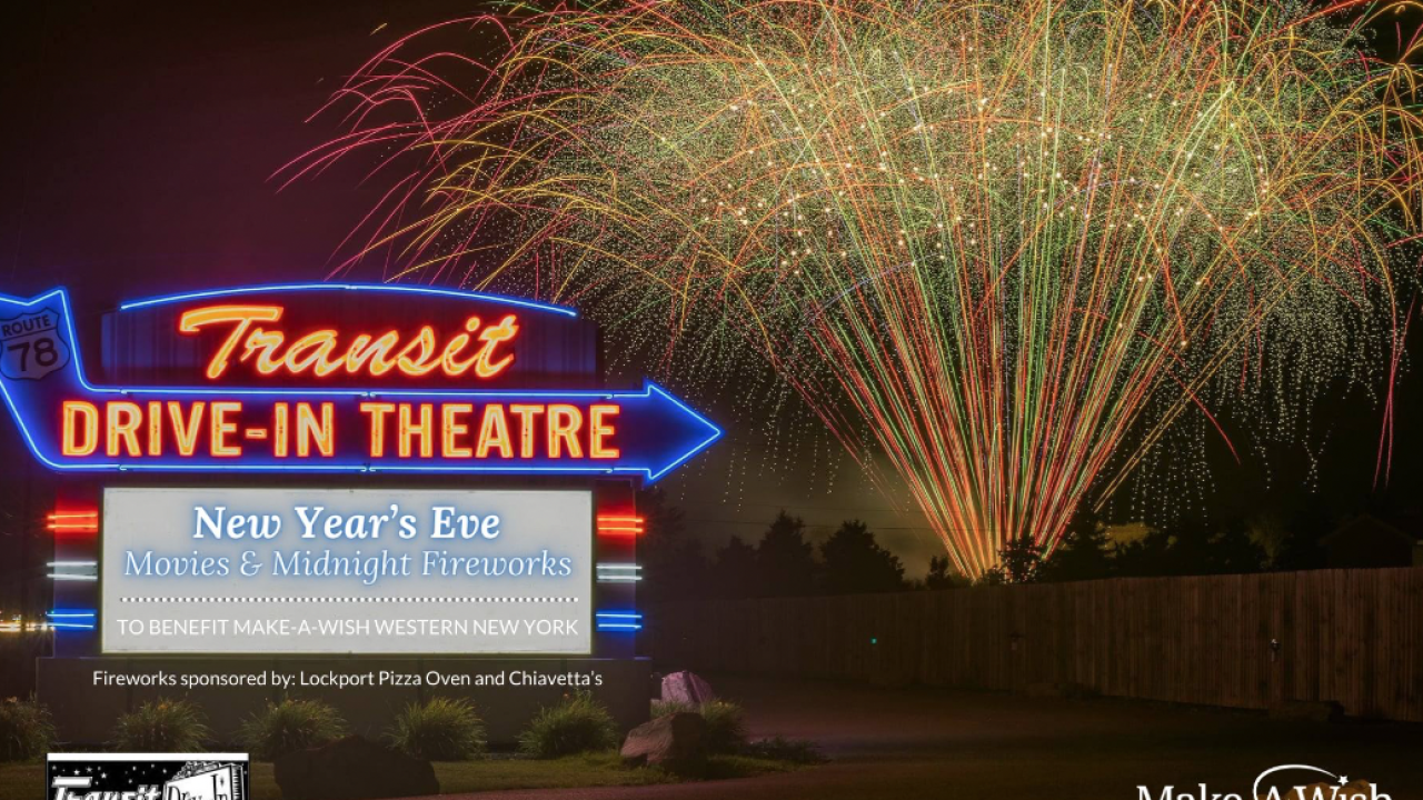 Transit Drive in will host its first ever NYE celebration this year