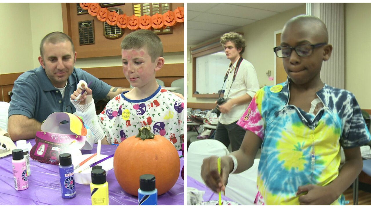 Children's Hospital of Richmond at VCU celebrates Halloween weeks early